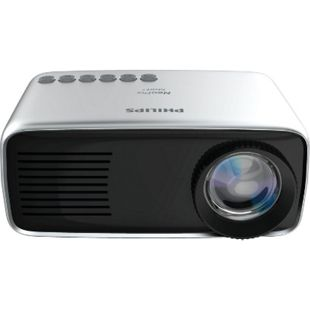 Philips NeoPix Start+ Beamer Mini-LED-Projektor (Akku, Lautsprecher, Media Player) - Bild 1