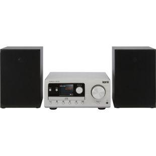 IMPERIAL DABMAN i300 CD Hybrid Mikro-HiFi-System DAB+ FM Webradio CD Player Bluetooth Equalizer 2x 20W... silber/schwarz - Bild 1