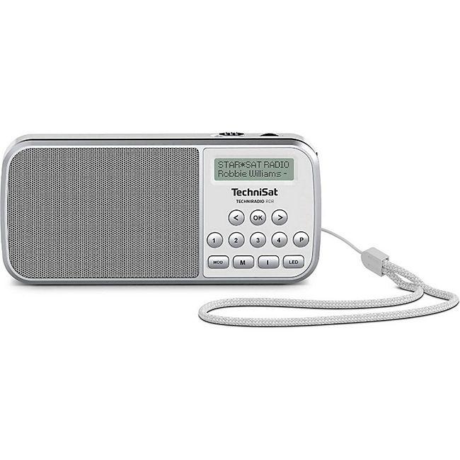 TechniSat Techniradio RDR portables DAB+/UKW-Taschenradio mit LED-Taschenlampenfunktion - Bild 1