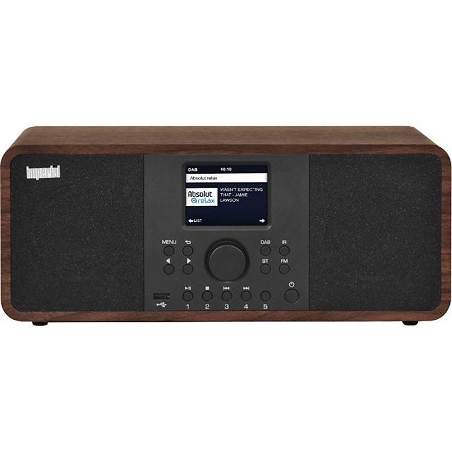 22-233-00 IMPERIAL DABMAN i205 (Stereolautsprecher, DAB+/DAB/UKW/Internetradio, Spotify Connect, USB, WLAN) holzoptik - Bild 1