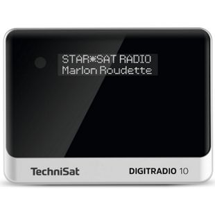 TechniSat DIGITRADIO 10 DAB+/UKW-Empfangsteil/Radioadapter mit OLED-Display und Bluetooth-Audiostreaming - Bild 1