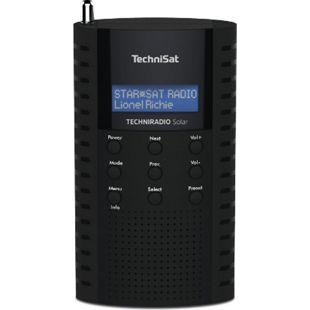 0000/3931 TechniSat TECHNIRADIO Solar (DAB+ Digitalradio, Solar Radio, LCD, USB) schwarz - Bild 1