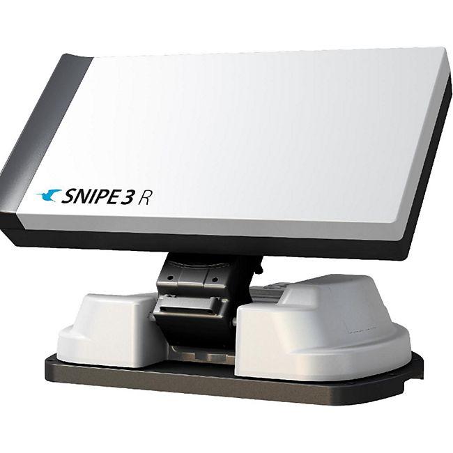 """Selfsat Selfsat Snipe 3 R Twin mit Fernbedienung GPS Vollautomatische Antenne Auto Skew System """"Black Line"""" (Antenne, Satelliten Antenne, Camping Sat Antenne, vollautomatisch, GPS, 4K UHD) - Bild 1"""