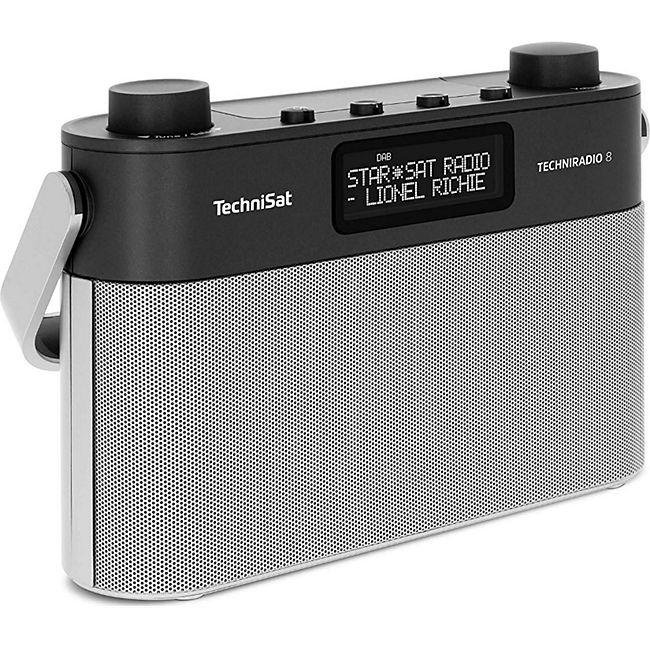 TechniSat Techniradio 8 Portables Digitalradio mit Tragegriff (DAB+, UKW, Sprachansagen, Radiowecker) - Bild 1