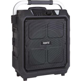 IMPERIAL BEATSMAN 100 akkubetriebener Lautsprecher-Trolley (100W Leistung, Bluetooth 4.2, Kartenlesern, Mikrofon) - Bild 1