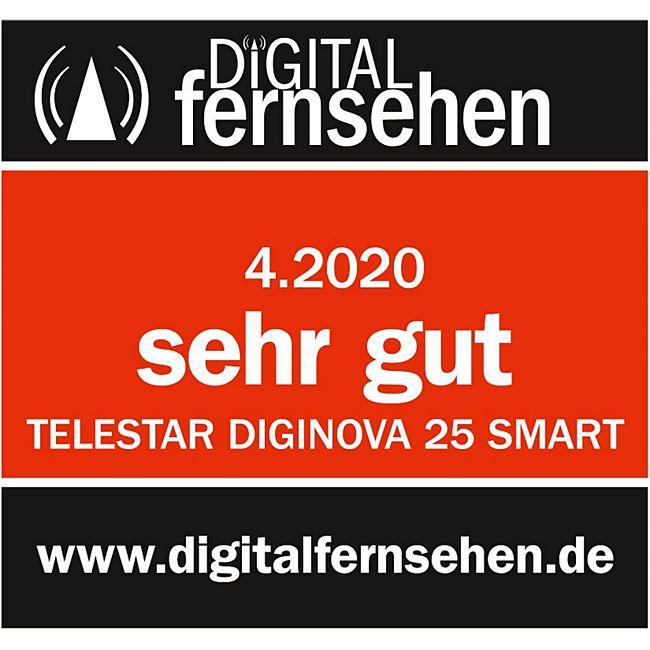 Telestar Diginova 25 Smart Receiver Hd Dvb S Und Dvb T Usb Pvr Funktion Amazon Alexa Unicable Smart Home Online Kaufen Bei Netto