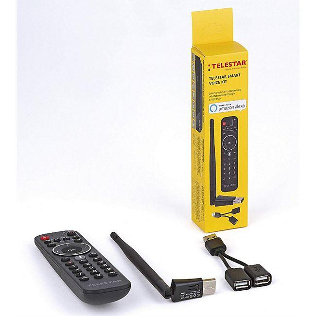 5400158 TELESTAR Smart Voice Kit für DIGINOVA 25 Smart (Smart Kit, Smart Home, Alexa, Sprachsteuerung) - Bild 1
