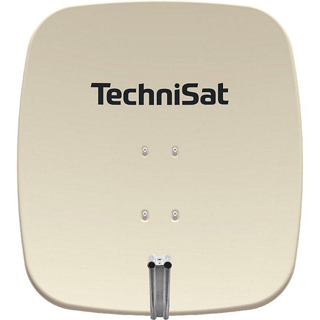 2065/1634 TechniSat SATMAN 65 PLUS (DigitalSat-Antenne, Aluminium, Parabolspiegel ohne LNB) beige - Bild 1