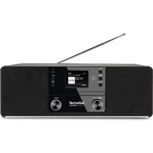 0000/3948 TechniSat DIGITRADIO 370 CD BT (Radio, Digitalradio, DAB+, MP3, CD Player, Bluetooth, AUX, Radiowecker) schwarz - Bild 1
