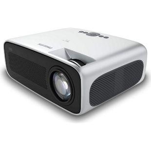 Philips NeoPix Ultra Projektor/Beamer (4.200 LED-Lumen, 120? Bildgröße, Bildschirmspiegelung via Wi-Fi, Bluetooth, HDMI)... silber/schwarz - Bild 1