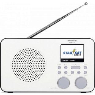 TechniSat VIOLA 2 C IR Portables Radio (Internetradio, DAB+, UKW, WLAN, 2.4 Zoll Farbdisplay, Kopfhöreranschluss, Wecker, Sleeptimer, 3 Watt RMS) - Bild 1