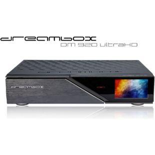 Dreambox DM920 UHD 4K 1x DVB-S2X FBC MultiStream Tuner E2 Linux PVR Receiver (12000 DMips, 8GB Flash, 2GB RAM, HDMI) - Bild 1