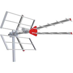 Fte maximal Eye UHF Antenne terrestrische Außenantenne (mit 11,5dB Gewinn, LTE / 5G Filter, DVB-T/DVB-T2, Wetterschutz für die Anschlüsse, einfach Montage) - Bild 1