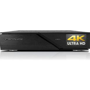 Dreambox DM900 RC20 UHD 4K 1x Dual DVB-C/T2 Tuner E2 Linux PVR Receiver (12000 DMips, Digital SAT-, Kabel- Antennenempfang) - Bild 1