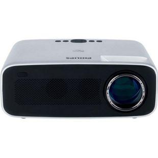Philips NeoPix Ace Projektor/Beamer (4.200 LED-Lumen, 120? Bildgröße, Bildschirmspiegelung via Wi-Fi, Bluetooth, HDMI)... silber/schwarz - Bild 1