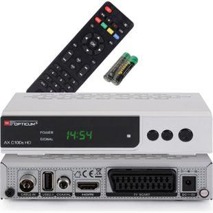 Opticum RED AX C 100s HD DVB-C Digital Kabel Receiver HDTV,DVB-C, HDMI, SCART, USB - Bild 1