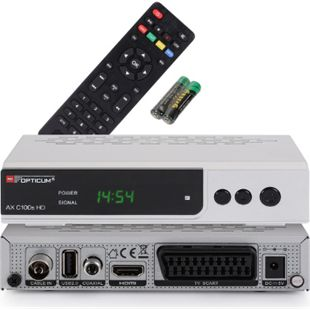 Opticum RED AX C 100S HD PVR HDTV, DVB-C, HDMI, SCART, USB , PVR Ready - Bild 1