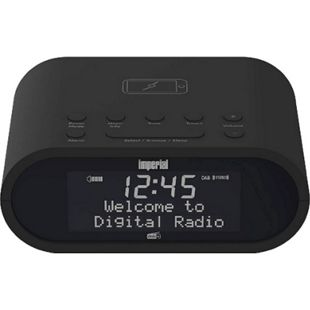 22-275-00 IMPERIAL DABMAN d20 Digiradio (kompakter DAB+ und UKW-Radiowecker, Matrix Display, Wireless-Charging Funktion, Sleeptimer, moderne Bauform) - Bild 1