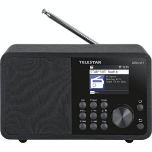TELESTAR DIRA M 1 Kompaktes Multifunktionsradio (Internetradiostreams, DAB+, Bluetooth 5.1, TFT LCD Farbdisplay, USB Ladefunktion) - Bild 1