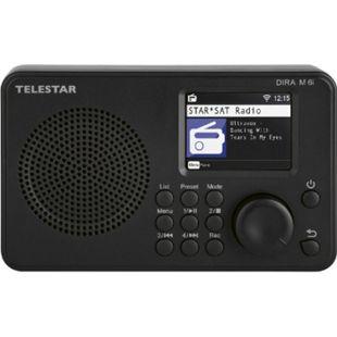 TELESTAR DIRA M 6i hybrid Radio (Internetradio, USB Musikplayer, kompaktes Multifunktionsradio, DAB+/FM RDS, WiFi, Bluetooth) - Bild 1