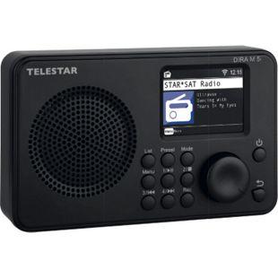 Telestar DIRA M 5i Internetradio (TFT Farbdisplay, UPnP und USB Media-Playback, Wecker, Bluetooth 5.1, Fernsteuerung via Soundmate App) - Bild 1