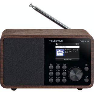 TELESTAR DIRA M 14i Multifunktionsradio (mit TFT LCD Farbdisplay, USB, Mediafunktionen, DAB+/FM/Web, Wecker, MP3, WMA, AAC) - Bild 1