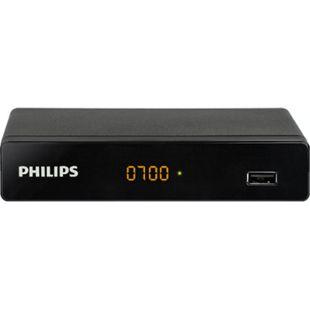 Philips NeoViu S2 Satellitenreceiver (HD, FullHD, DVB-S2, mit USB Mediaplayer, LED Display, Kindersicherung, Timer) - Bild 1