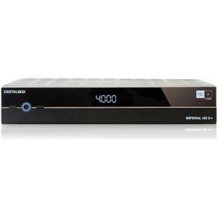 DigitalBox IMPERIAL HD 5+, schwarz (HD+ Satellitenreceiver) - Bild 1