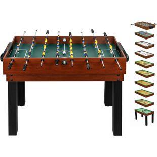 shelfmade umfangreicher Multifunktionsspieltisch Tischkicker-Multifunktionstisch (10 in 1) für die ganze Familie - Bild 1