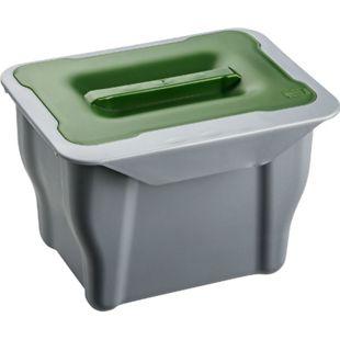 shelfmade 5l Bio Abfalleimer Mülleimer für Biomüll, zum Einhängen, Tischabfall Kitchen Box - Bild 1