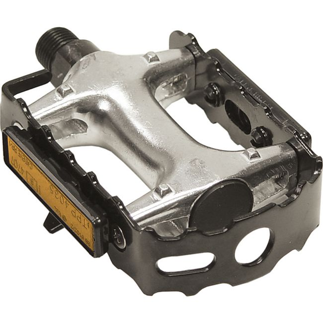 MTB Alu Pedale - Fahrradpedale Reflektor Aluminiumpedale Offroadpedale - Bild 1