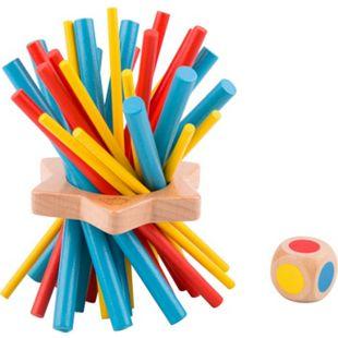 """Tooky Toy Farbenmikado - Kinder Mikado aus Holz - Geschicklichkeits-Spielzeug """"Keep It Steady"""" - Bild 1"""