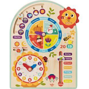 Tooky Toy Kalenderuhr Jahresuhr - Kinder-Spielzeug Holz-Spielzeug Lern-Spielzeug - Bild 1
