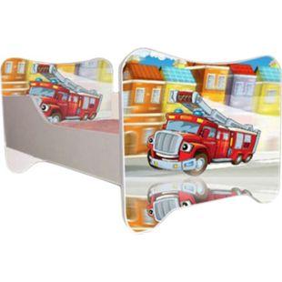 Kinderbett Fire inkl Rollrost + Matratze 70*140 cm - Bild 1
