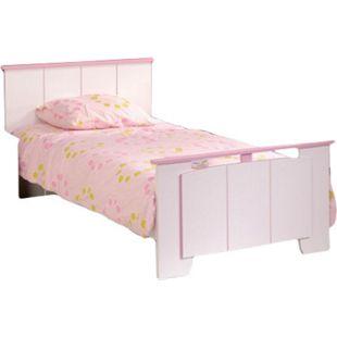 Kinderbett Biotiful Parisot 90*200 cm weiß - rosa - Bild 1
