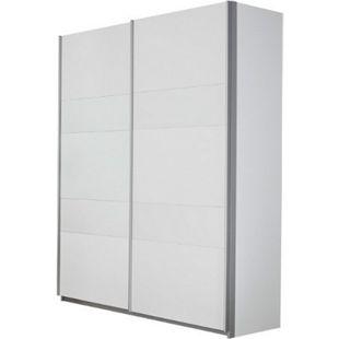 Schwebetürenschrank Nero 18 weiß 2 Türen B 136 cm - Bild 1
