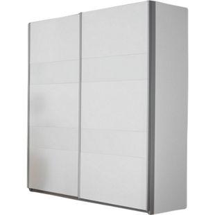 Schwebetürenschrank Nero 19 weiß 2 Türen B 181 cm - Bild 1