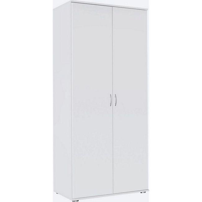 Kleiderschrank Sara 2-trg weiß B 85 cm - H 188 cm - T 52 cm - Bild 1