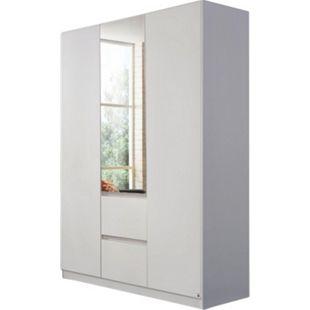 Kleiderschrank Amelie 3-trg weiß B 136 cm - H 197 cm - T 54 cm - Bild 1