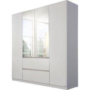 Drehtürenschrank Amelie weiß 4 Türen B 181 cm - Bild 1