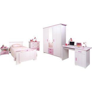 Kinderzimmer Biotiful Parisot 5-tlg weiß / rosa - Bild 1