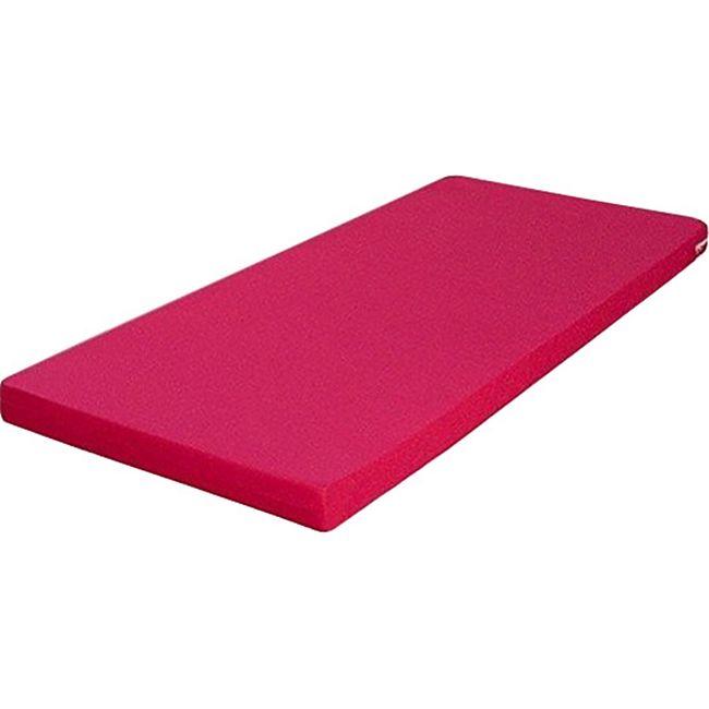 Funktionsbett Clara inkl. ausziehbarer Gästeliege auf 4 Rollen + 3 Schublade 90*200 cm braun / weiß... Bett + Matratze (pink) - Bild 1