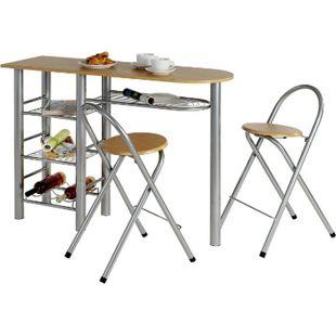 IDIMEX Bartisch 2 Stühle STYLE - Bild 1