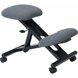 IDIMEX Kniehocker MALO höhenverstellbar, ergonomisch in grau - Bild 1