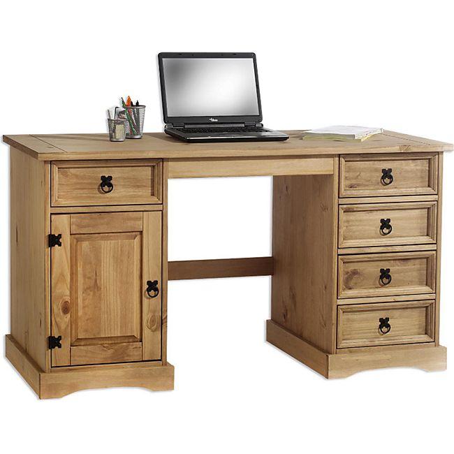 IDIMEX Schreibtisch Mexico Möbel TEQUILA - Bild 1
