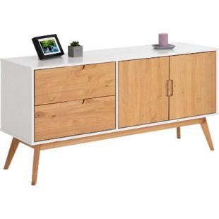 IDIMEX Anrichte 2 Türen 2 Schubladen skandinavisches Design TIVOLI - Bild 1
