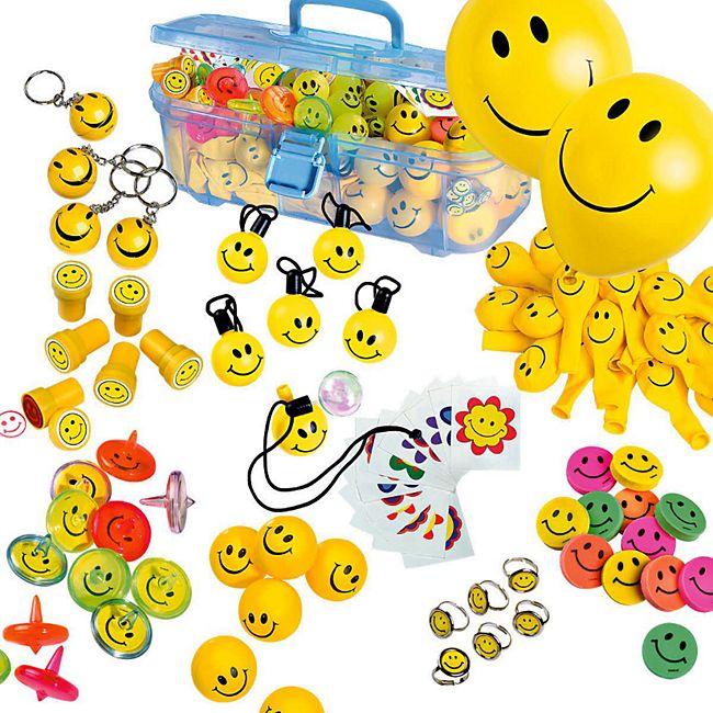 Spiele-Set, mit Kunststoffbox, 151-tlg. Smile - Bild 1