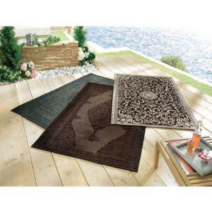 Outdoor-Teppich Nima Grau 120 x 180 cm - Bild 1