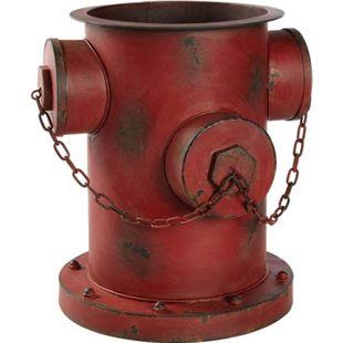 Blumentopf Hydrant Rot - Bild 1