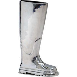 Regenschirmständer Stiefel Silberfarben - Bild 1
